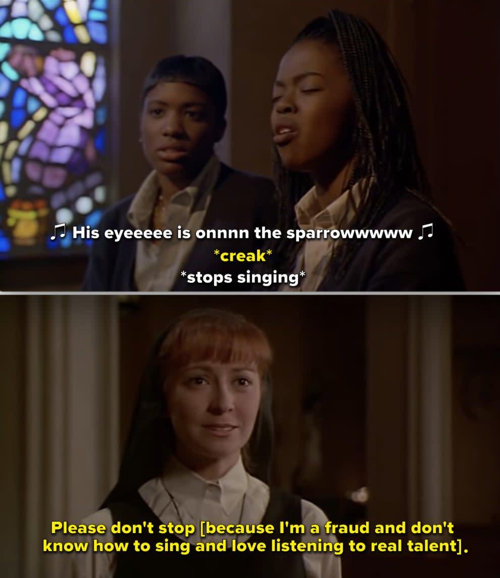 """Irmã Mary Robert em """"Mudança de Hábito 2"""""""
