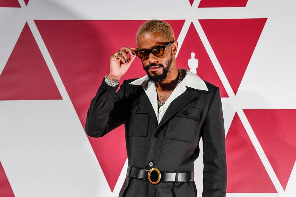 Lakeith on the red carpet