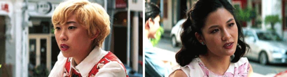 Peik Lin ajudando Rachel