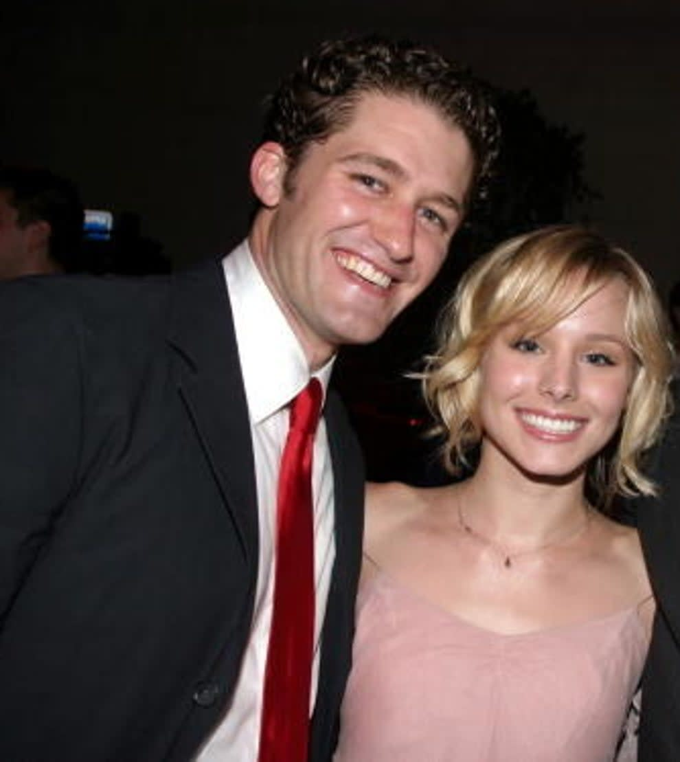 Matthew and Kristen standing together and smiling