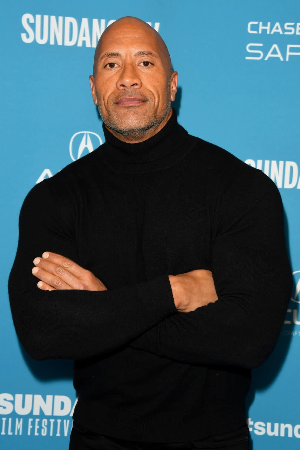 """Dwayne Johnson attends the surprise screening of """"Fighting With My Family"""""""
