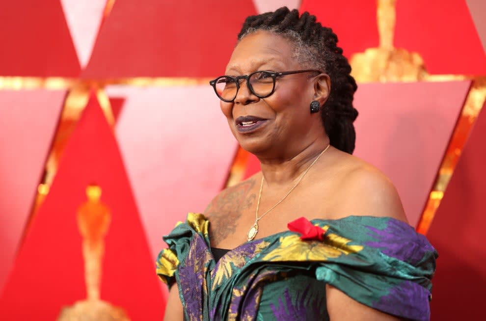 Whoopi Goldberg attends the 90th Annual Academy Awards