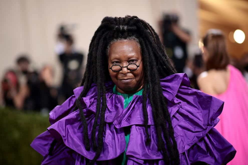 Whoopi Goldberg attends The 2021 Met Gala Celebrating In America: A Lexicon Of Fashion