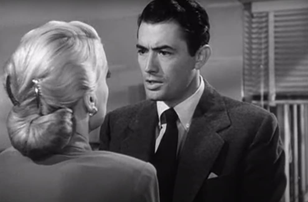 "Gregory Peck in ""Gentleman's Agreement"""