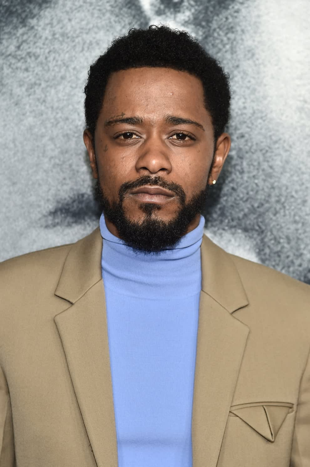 """Stanfield at """"The Photograph"""" premiere in 2020"""