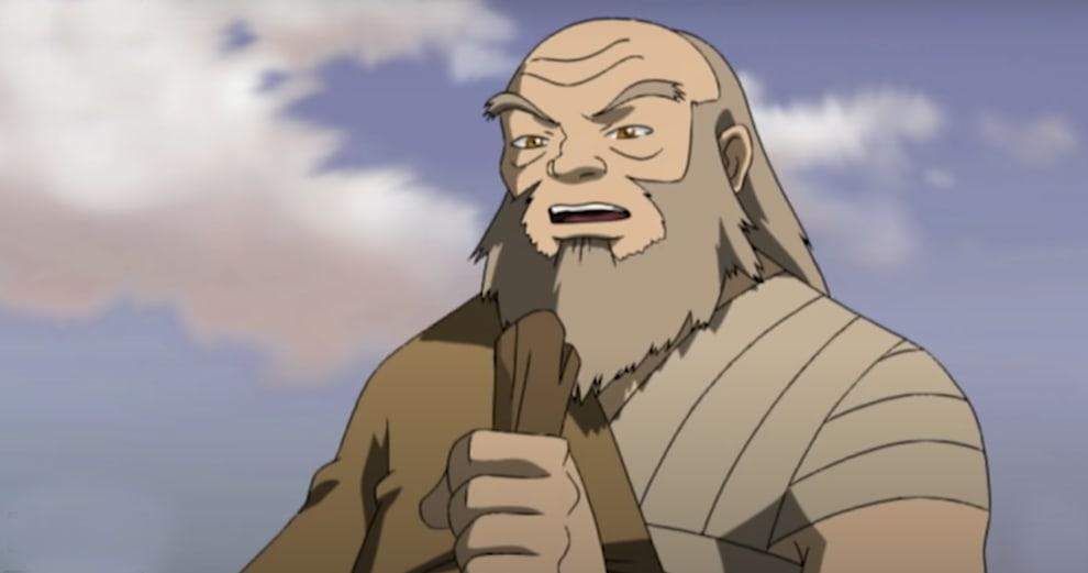 Uncle Iroh training Zuko