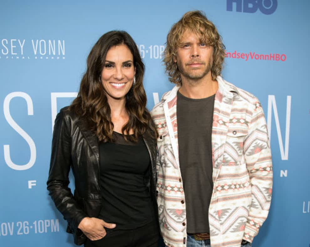 Daniela and Eric on the red carpet together