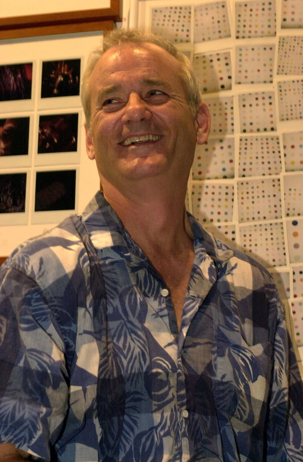 Bill Murray sorrindo