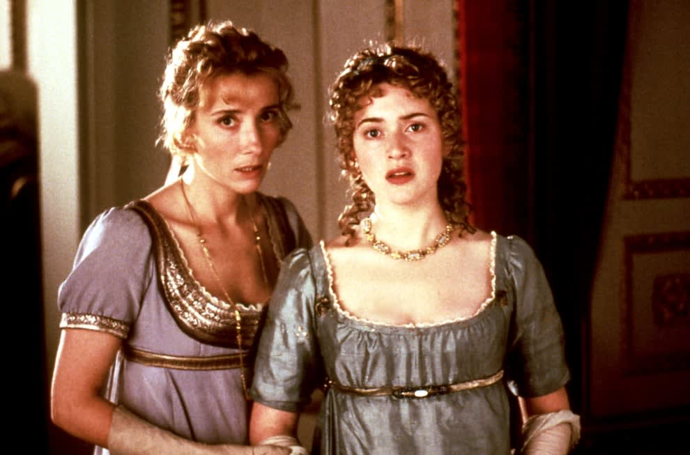 """Emma Thompson and Kate Winslet in """"Sense and Sensibility"""""""