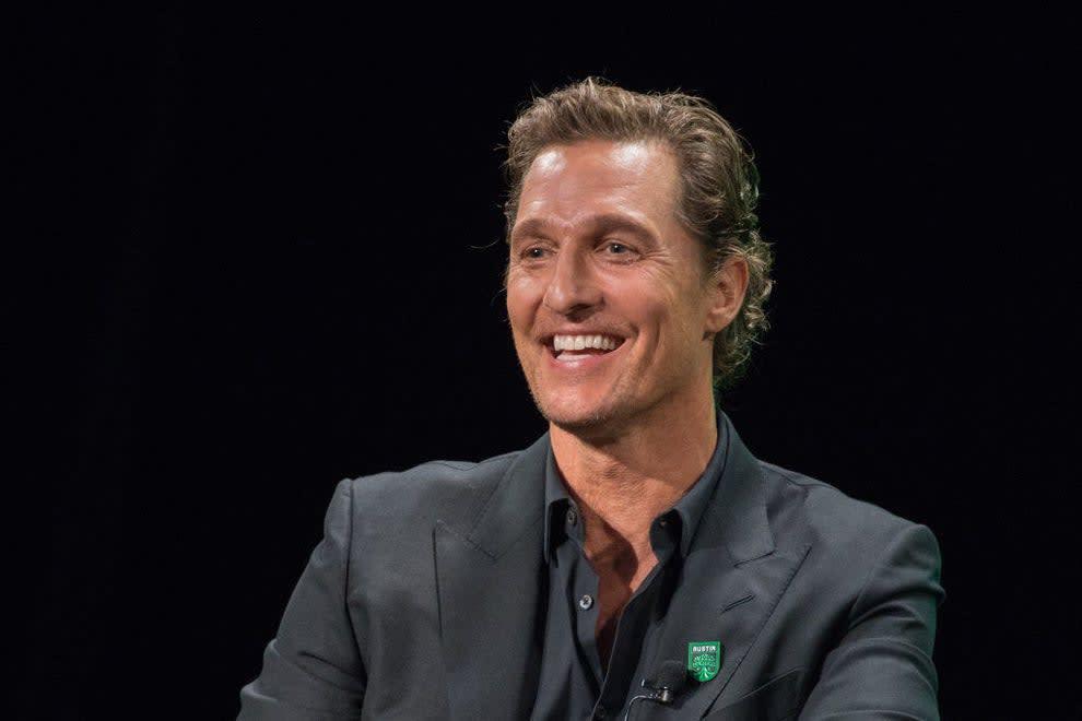 Matthew smiling