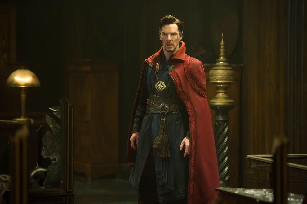 Dr. Strange in costume