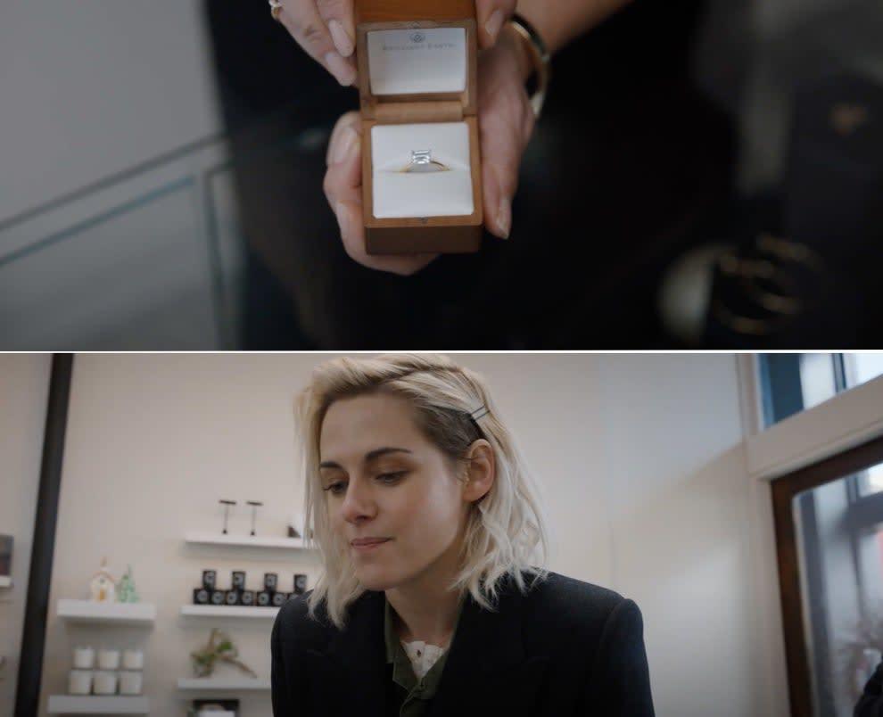 O anel que Abby vai dar de casamento