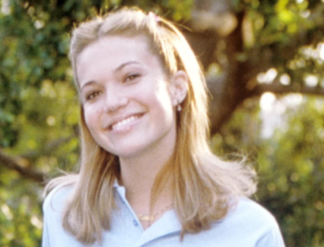Lana in her school uniform