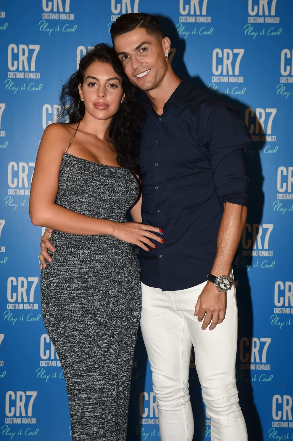 Georgina Rodriguez and Cristiano Ronaldo