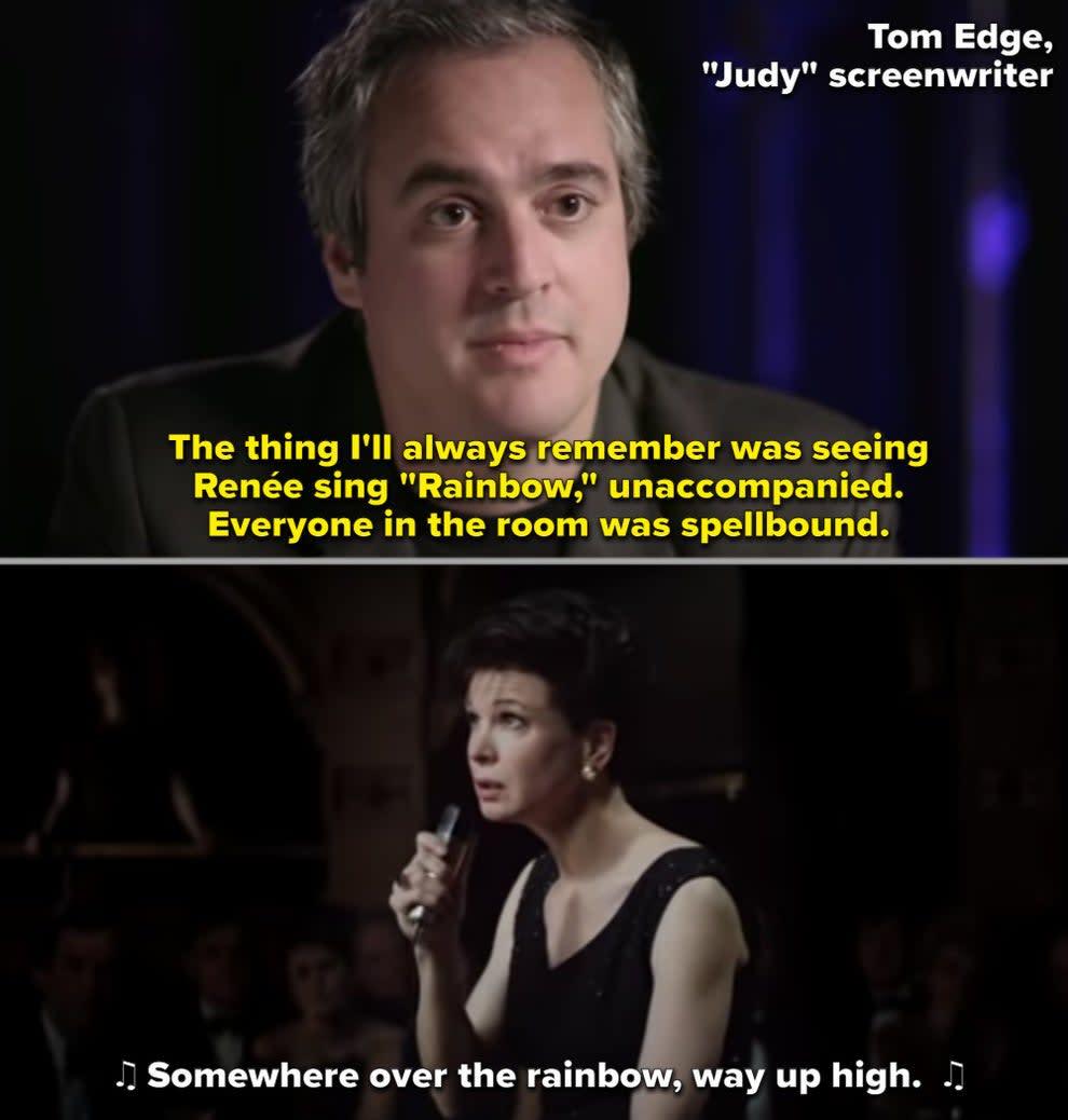 Renée como Judy Garland