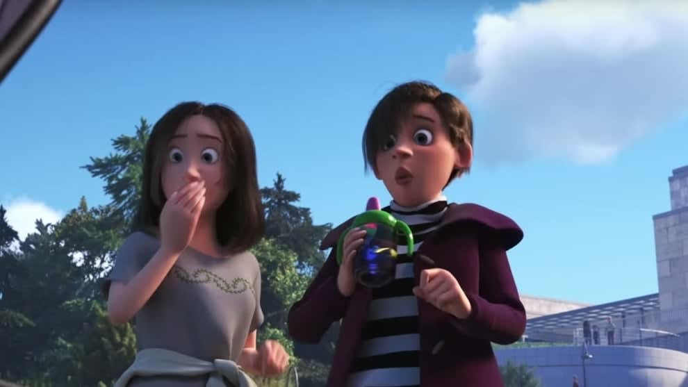 Two moms in Pixar's Finding Dory