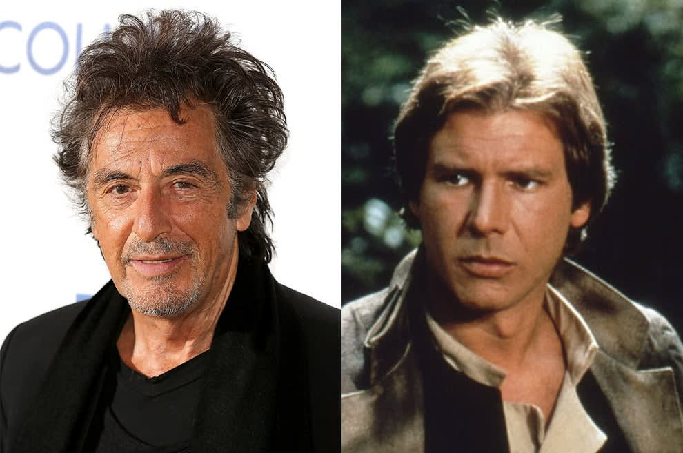 the role went to Harrison Ford