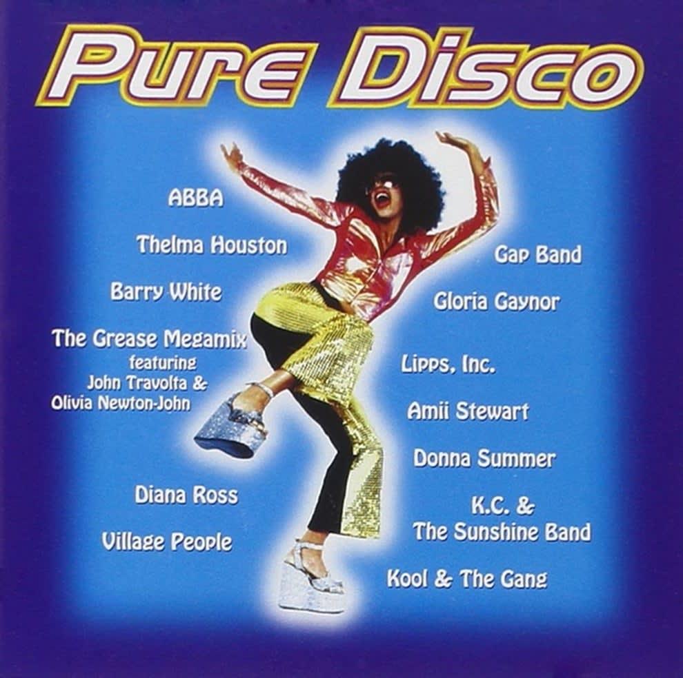 Cover for Pure Disco album