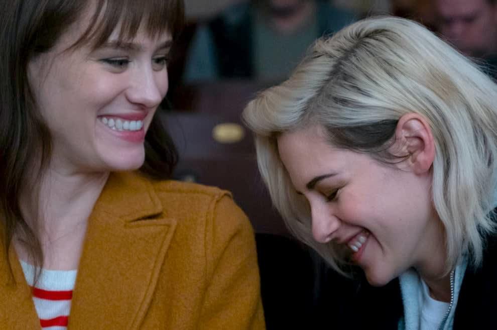"""Abby e Harper em """"Alguém Avisa?""""."""