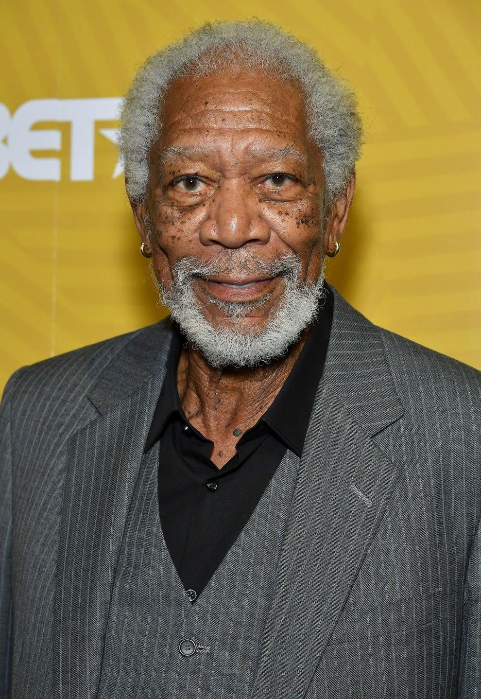 Morgan Freeman atualmente.