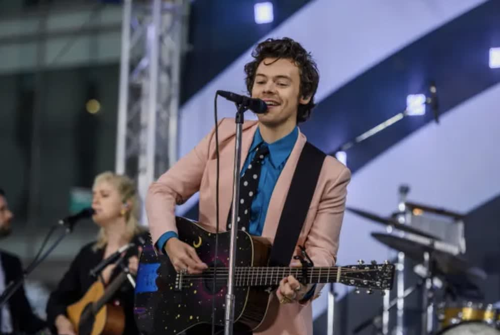 Harry Styles no palco