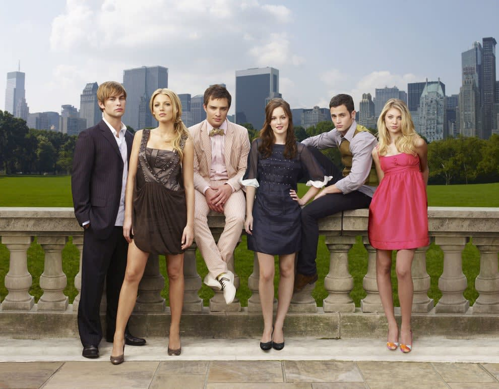Chace Crawford, Blake Lively, Ed Westwick, Leighton Meester, Penn Badgley, Taylor Momsen