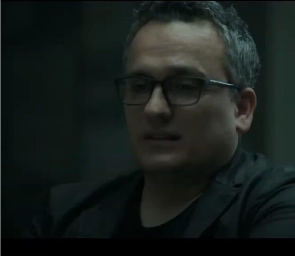 Grieving gay man in Avengers: Endgame who's talking to steve