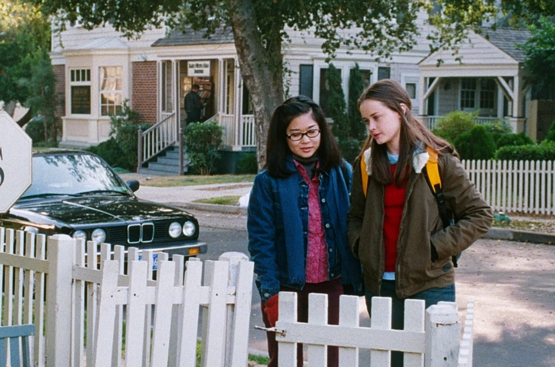 """Lane and Rory on """"Gilmore Girls"""""""