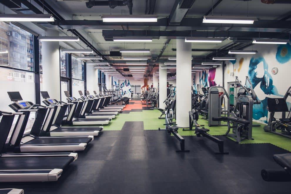 An empty gym