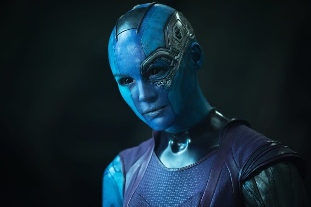 Nebula from the first Guardians movie