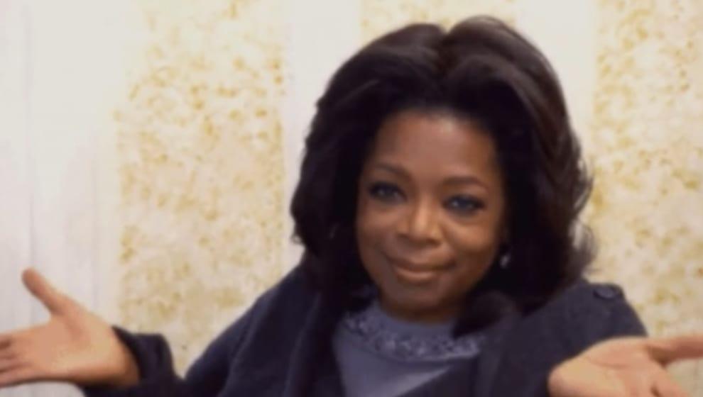 Oprah looking unphased