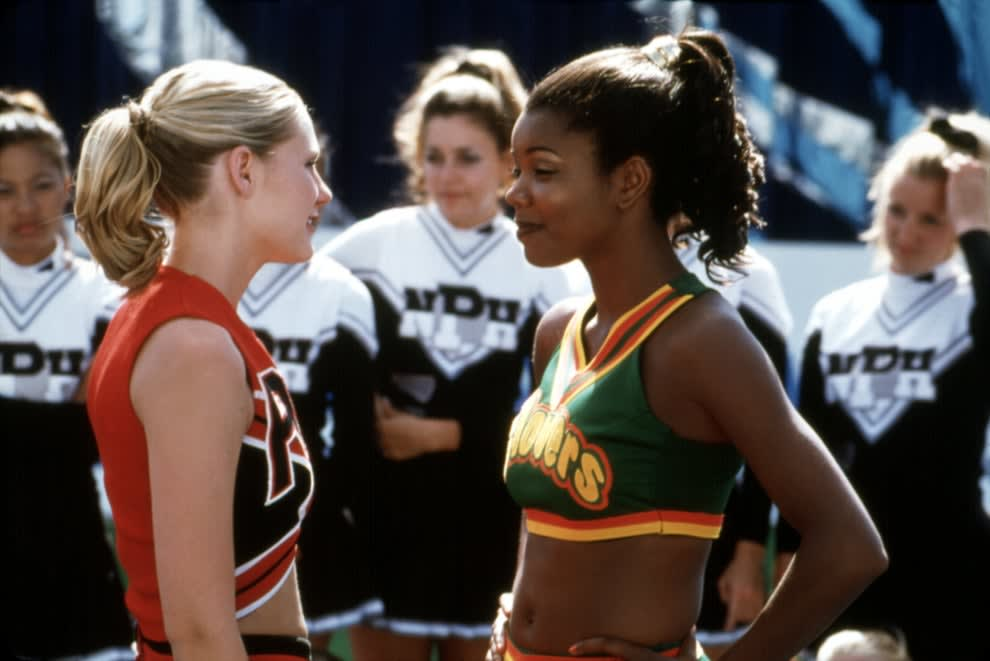 """Gabrielle Union in her Clovers uniform from """"Bring It On"""""""