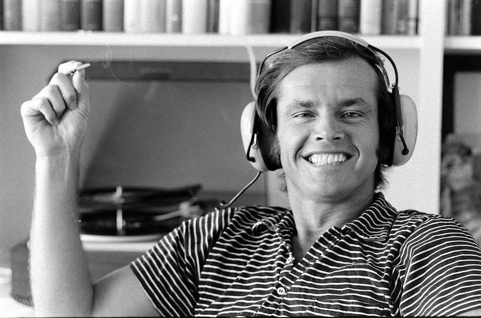 Jack Nicholson quando era mais jovem.