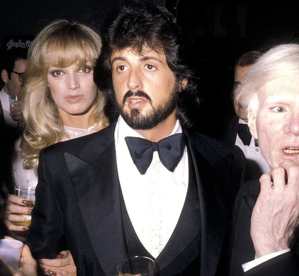 Sylvester Stallone quando era mais novo.