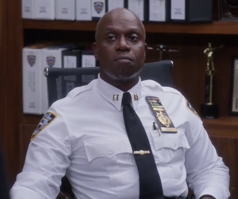 Captain Holt bravo