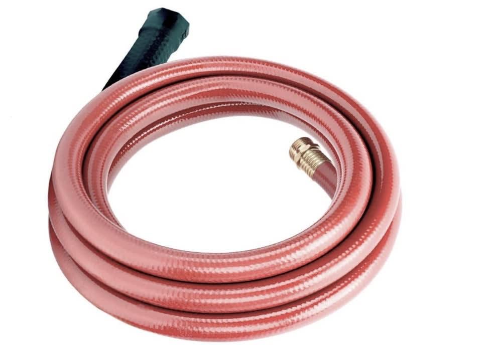 A hose coiled up