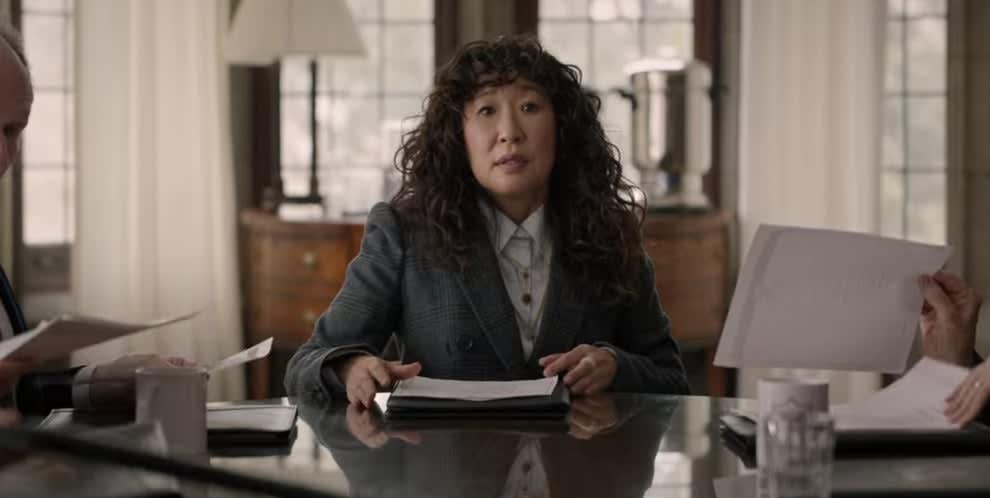 Ji-Yoon in blazer
