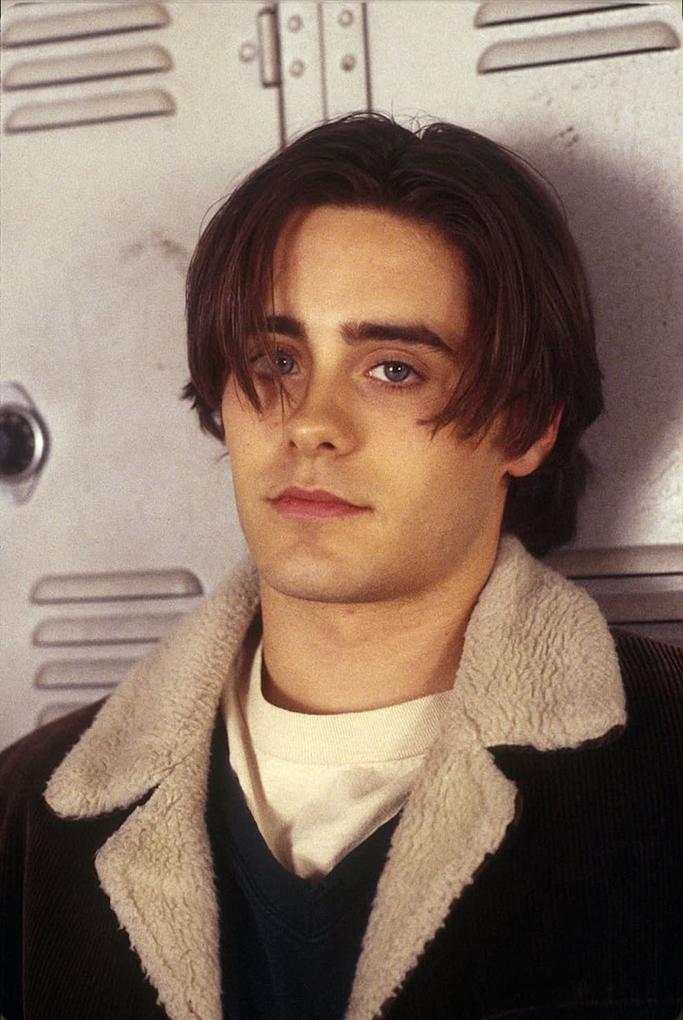 """Leto on the set of """"My So-Called Life"""""""