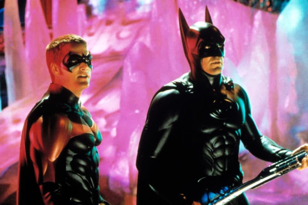A screenshot of Batman and Robin