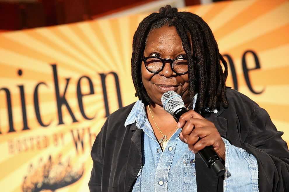 Whoopi Goldberg, speaks at Chicken Coupe during Food Network & Cooking Channel New York City Wine & Food Festival