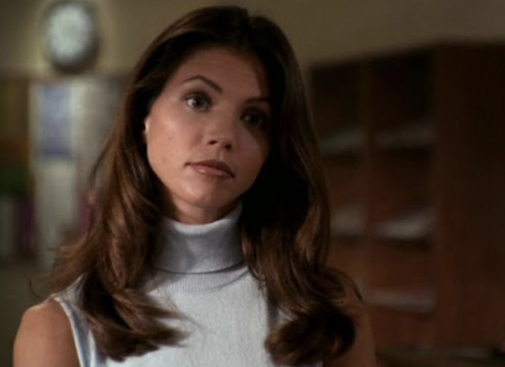 "Imagem da Cordelia Chase, de ""Buffy, a Caça-Vampiros""."