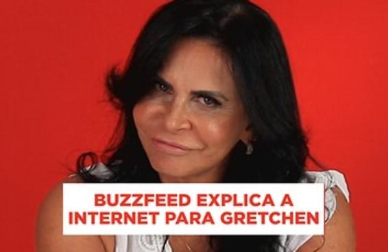 Será que a Gretchen sabe tudo de internet?