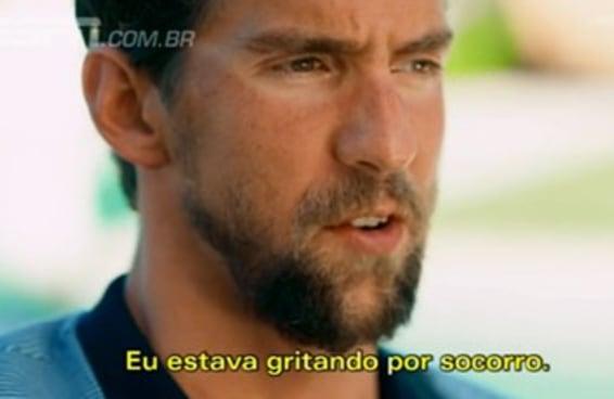 Phelps disse que a Olimpíada do Rio o salvou e inspirou as pessoas