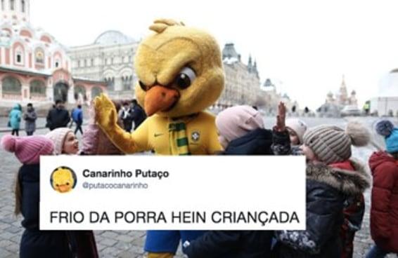 """A Copa nem começou, mas o  """"Canarinho Pistola"""" já é a melhor parte dela"""