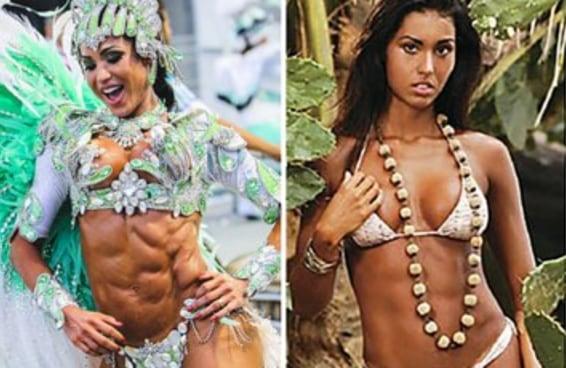 14 celebridades brasileiras com visual bem diferente do que você já viu
