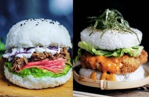 Pessoas do mundo todo estão fazendo hambúrguer de sushi