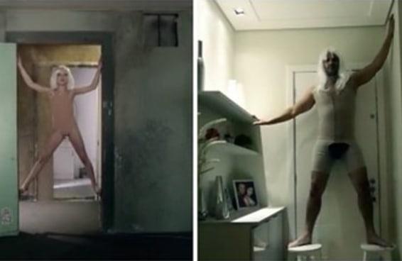 Um cara fez um vídeo imitando um clipe da Sia para anunciar seu apartamento