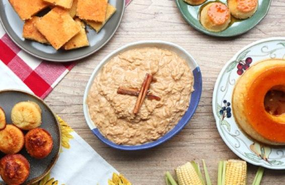 Aprenda a fazer 3 sobremesas de festa junina!