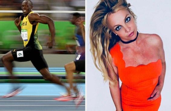 Segundo uma publicação da Britney Spears no Instagram, ela é a humana mais rápida do planeta Terra e eu acredito nela