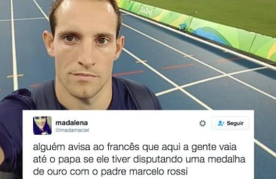 O Twitter falou umas boas verdades para o francês do salto com vara